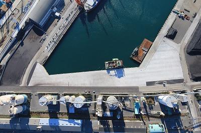小名浜港災害復旧工事(3号ふ頭/野積場舗装工) いわき市