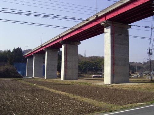 三沢大橋補強工事 いわき市