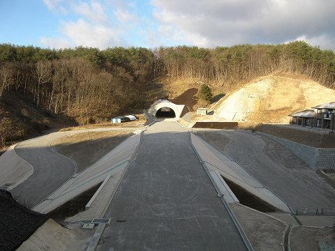 緊急地方道整備工事(あぶくま高原自動車道)石川郡