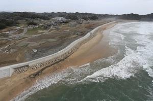 豊間漁港海岸災害復旧工事  いわき市