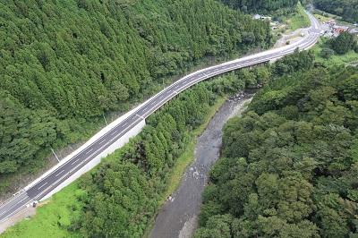 優良工事受賞 県道いわき石川線 道路橋りょう整備工事(皿貝工区)  いわき市