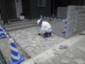 タイル・階段工事