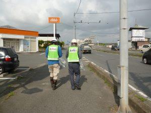 道路清掃美化運動