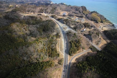 金ヶ沢地区道路改良舗装工事  いわき市